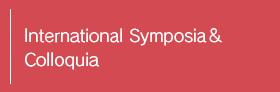 International Symposia & Seminars